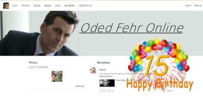 Added new blog: OdedFehr.net is 15 Years old!  https://afansite.net/site/news/view/maryds-blog/odedfehr-net-is-15.htm